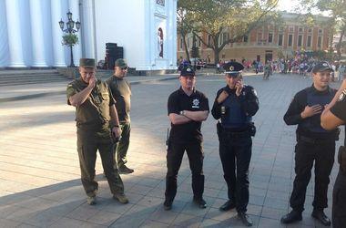 В Одессе активистам палаточного городка не дали вернуться на площадь