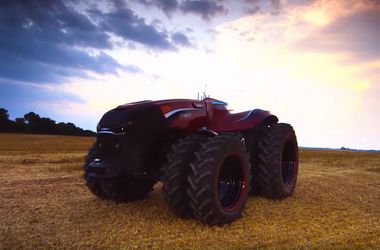 Трактор на автопилоте - будущее сельского хозяйства