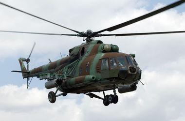 На России Ми-8 с военными совершил жесткую посадку и сгорел