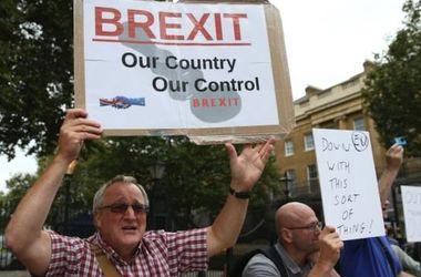 В Лондоне прошла многотысячная акция против Brexit