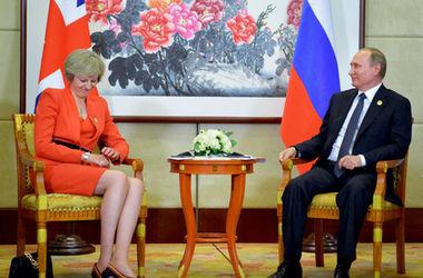 Путин оконфузился на встрече с новым премьером Британии