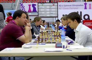 Украинские шахматисты синхронно побеждают на Олимпиаде