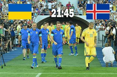 Онлайн матча Украина - Исландия: Шевченко дебютирует в качестве главного тренера сборной