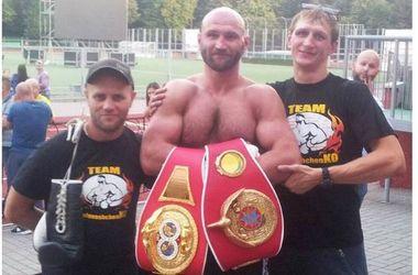 Украинец Головащенко завоевал вакантный титул чемпиона Европы по версии IBF
