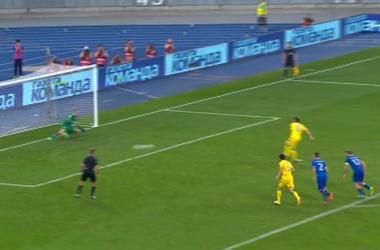 Как Коноплянка не забил пенальти в ворота Исландии