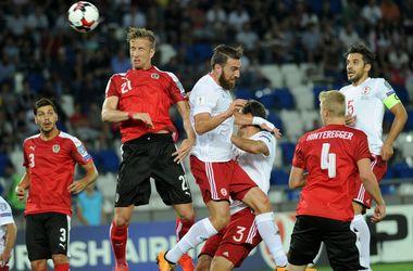 Обзор матча Грузия - Австрия 1:2