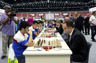Сборные Украины обыграли Китай и Сербию на шахматной Олимпиаде