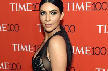 """""""Как в чешуе"""": Ким Кардашьян ошеломила платьем на 217 тысяч гривен (фото)"""