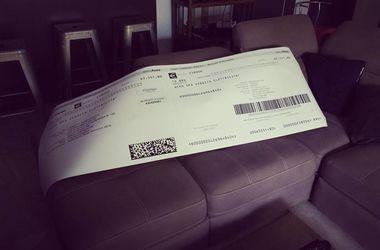 Итальянец получил счет за электричество на 65 тысяч евро