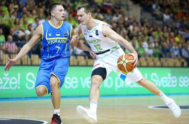 Сборная Украины проиграла Словении в отборе на Евробаскет-2017