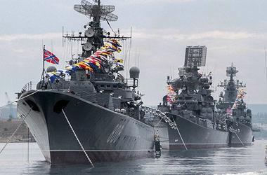 Россия вывела боевые корабли в Черное море