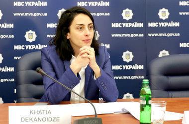 Деканоидзе анонсировала создание полицейской академии