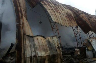 В Одесской области взорвался ангар с вторсырьем