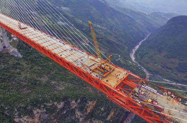 Как выглядит самый высокий в мире вантовый мост