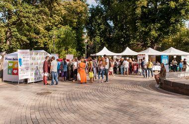 В Киеве провели фестиваль в поддержку здорового образа жизни