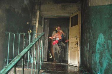 Под Одессой из огня спасли четверых детей