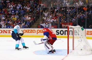 Сборная Европы обыграла Чехию на Кубке мира по хоккею