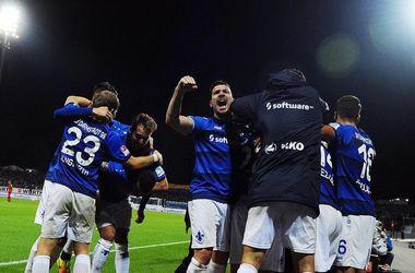 Олейник забил первый гол в чемпионате Германии