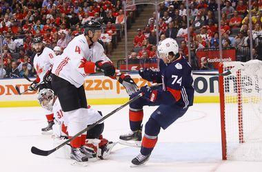 Сборная Канады обыграла США на Кубке мира по хоккею