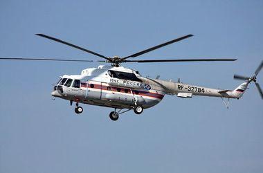 В Подмосковье разбился вертолет Ми-8, все члены экипажа погибли