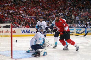 Сборная Канады обыграла Европу на Кубке мира по хоккею
