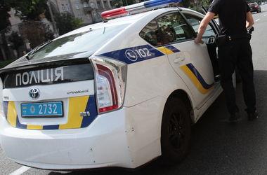 В Киеве убегающий от полиции пьяный водитель застрял в лесном грунте