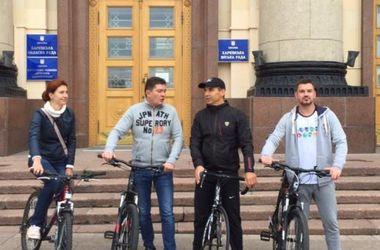 День без авто в Харькове: мини-парк для байков и чиновники без машин