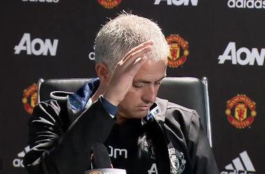 Жозе Моуринью не смог прибить муху на пресс-конференции