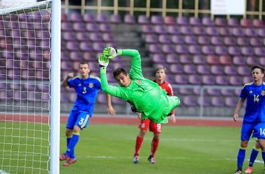 Юношеская сборная Украины проиграла Турции