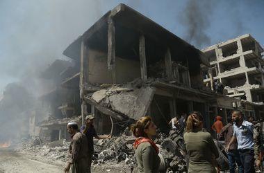 ВКС РФ применили фосфорные и вакуумные бомбы в Алеппо – СМИ