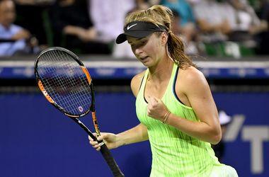 Элина Свитолина с победы стартовала на турнире WTA в Китае