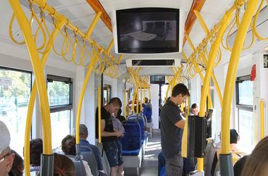 В Киеве временно закрывается движение трамваев маршрута №1 (схема)