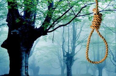 В Запорожье на дереве повесился молодой парень
