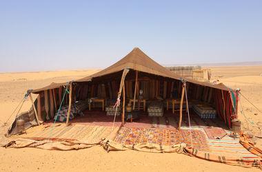 На ЧМ-2022 болельщиков поселят в бедуинские палатки