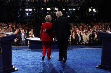Дебаты кандидатов в президенты США: Клинтон напомнили о сервере, Трампу — о любви к Путину