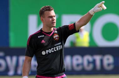 Российский вратарь Акинфеев обновил антирекорд Лиги чемпионов