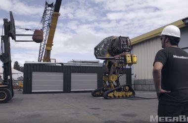 Экстремальный краш-тест огромного боевого робота