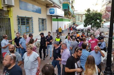 В сети появилось видео с места взрыва в испанском кафе