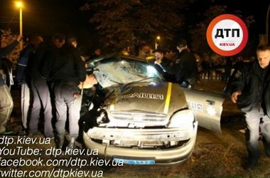 В ДТП под Киевом погибли двое полицейских