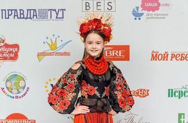 """На конкурсе """"Мини-мисс мира 2016"""" победила десятилетняя Анастасия из Винницы"""
