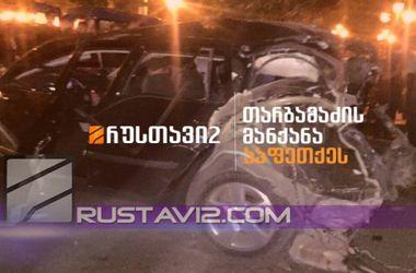 В Тбилиси взорвали автомобиль соратника Саакашвили