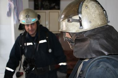 В Киеве во время пожара погиб мужчина