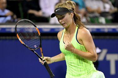 Элина Свитолина обыграла Лисицки на турнире в Пекине