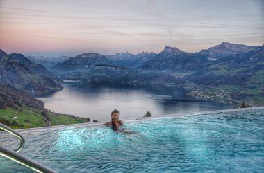 Швейцарский отель стал звездой сети