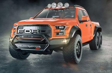 Hennessey построил 6-колесный Форд F-150 Raptor