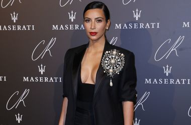 Напуганная Ким Кардашьян приостановила съемки реалити-шоу
