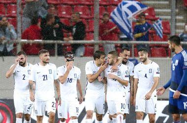 Обзор матча Греция - Кипр - 2:0
