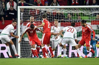 Обзор матча Венгрия - Швейцария - 2:3