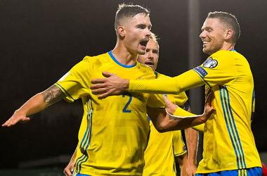 Обзор матча Люксембург - Швеция - 0:1