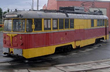 В Киеве на территории депо сгорело два вагона трамвая